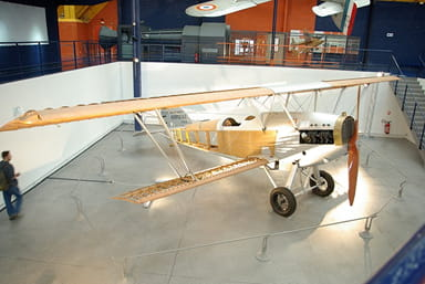 Cutaway of a Potez 25 at Air & Space Museum of Le Bourget, France