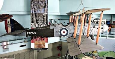 DH.9 at the Musée de l'Air et de l'Espace, Paris Le Bourget