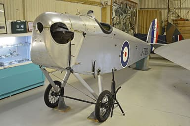DH53 Humming Bird 'J7326' Rebuild at De Havilland Museum
