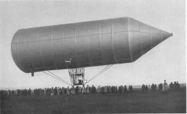 David Schwartz's Dirigible Filing with Air on November 3, 1897