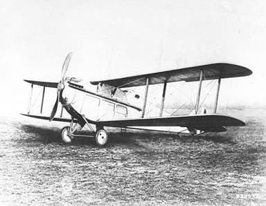 De Havilland DH.18 Nearing Completion (1921)