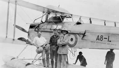 De Havilland DH.50J During Pacific Islands Flight