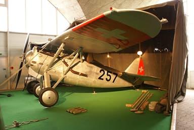 Dewoitine D.27 Version at Flieger Flab Museum in Dübendorf, Switzerland