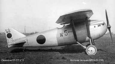 Dewoitine D1 C1 Aircraft