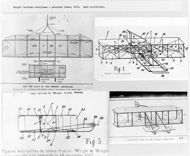 Drawings Used in 1904 Patent Application