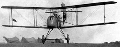 Early DH.2 Taking Off from an Airfield at Beauvel, France