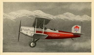 Early Western Air Express Postal Aircraft