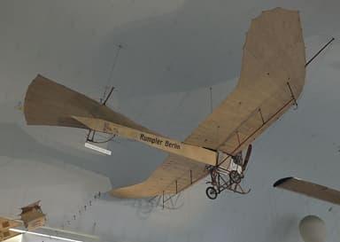 Etrich Rumpler Taube in the Deutsches Museum Similar to Gavotti's Airplane