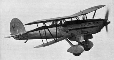Fairey Fox Mk.IV of the Belgian Air Force