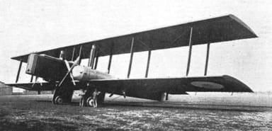 Farman F.140 Super Goliath Four Engine Biplane Night Bomber