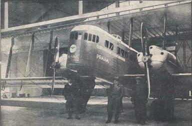 Farman Goliath of Czechoslovakia State Airline (1929)