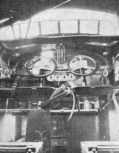 Farman Super Goliath Cockpit (L'Aérophile March, 1926)