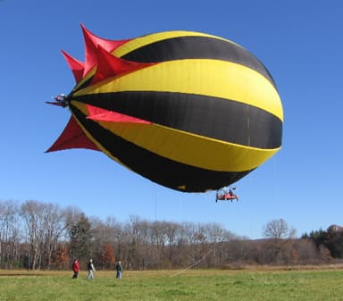 First Flight of Personal Blimp (October 27, 2006)