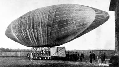 First Wolfert Airship to Fly With a Petrol Engine