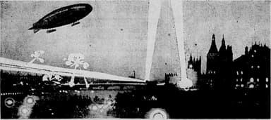 First Zeppelin Raid on London (LZ 38, June 1, 1915)