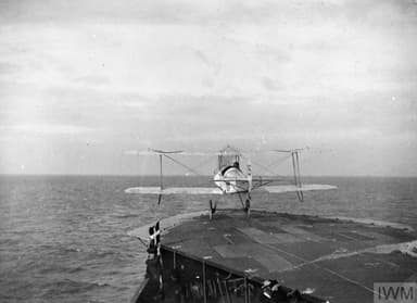 Flight Lt Harold Towler Makes First Conventional Take Off