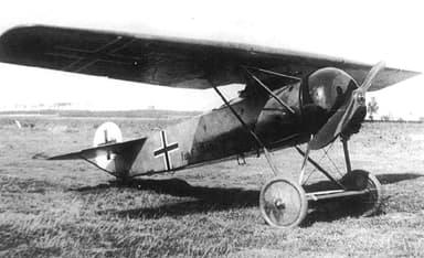 Fokker D.VIII Manufactured by Fokker-Flugzeugwerke