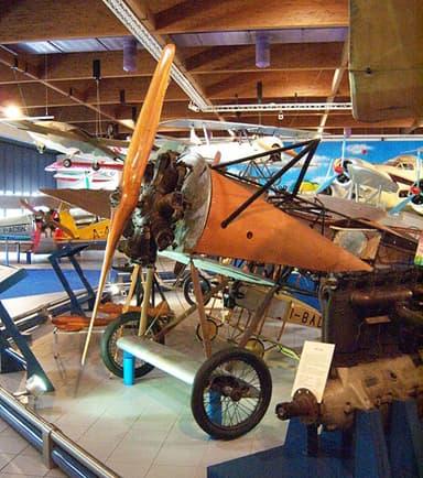 Fokker D.VIII at Caproni Museum