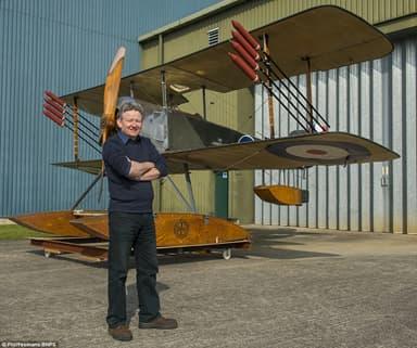 Full Scale Replica Mock-Up at Fleet Air Arm Museum