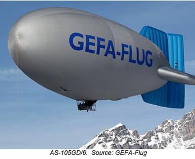 GEFA-Flug Six Seat Airship AS-105GD-6 (2006)