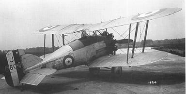 Gamecock II Fitted with Outward-Leaning Struts in 1927