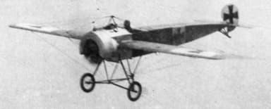 German Fokker Eindecker in Flight