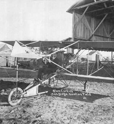 Glenn Curtis School of Aviation in San Diego