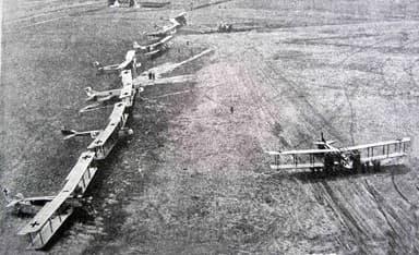 Gotha Bombers Preparing for Action in Occupied Belgium