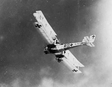 Gotha G.IV Heavy Bomber in Flight
