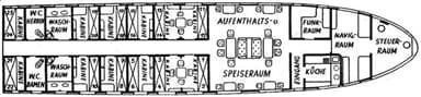 Graf Zeppelin Gondola Deck Plan