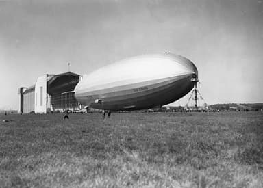Graf Zeppelin at Lowenthal Hangar in 1938