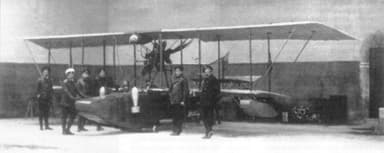 Grigorovich M-1 with Military Officials (?)
