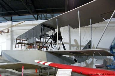Grigorovich M5 Flying Boat Airplane at Istanbul Aviation Museum