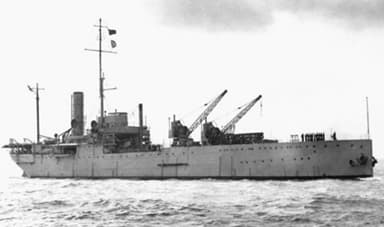 HMS Ark Royal after Modification to a Catapult Ship