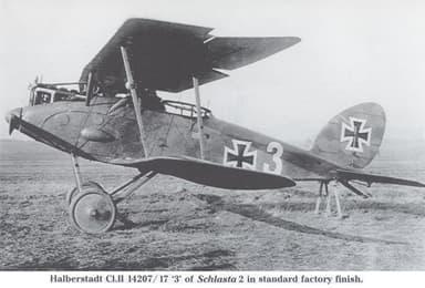 Halbert CLII Fighter Aircraft