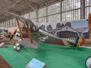 Hanriot HD at Royal Military Museum Brussels, Belgium