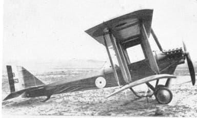 Havilland Airco DH.6 Biplane Trainer