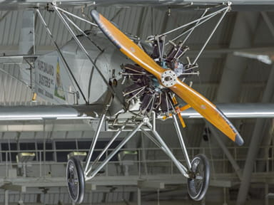 Huff-Daland Duster Propeller, Engine and Fuselage