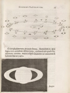 Huygens' Explanation for the Aspects of Saturn, 1659