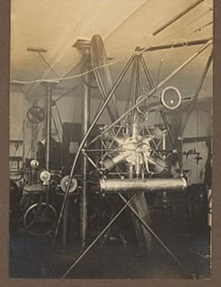 Jacob Christian Hansen Ellehammer's 9 hp 'Star-Shaped Engine'