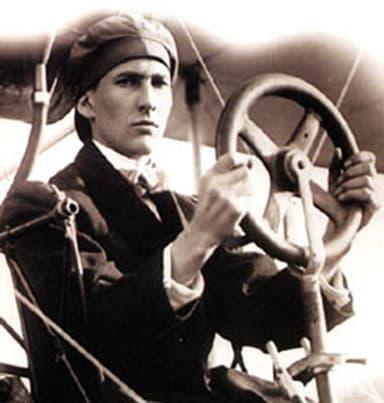 John McCurdy at the Controls of AEA Silver Dart (1911)
