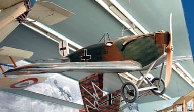 Junkers D.I survivor at Musée de l'Air et de l'Espace
