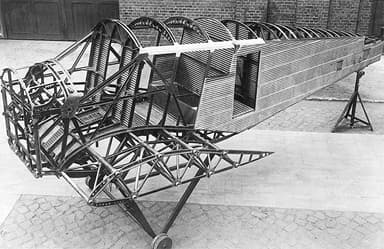 Junkers F 13 Under construction at Unconfirmed Location (1919)