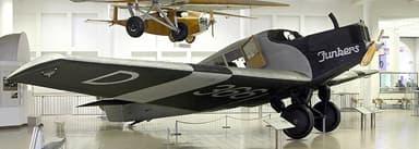 Junkers F 13 in the Deutsches Museum