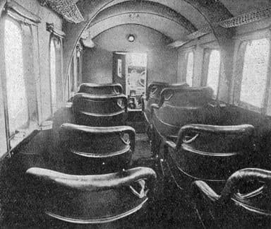 Junkers G 24 Passenger Cabin (L'Aéronautique November 1926)
