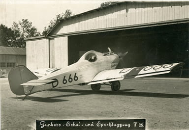 Junkers J29 Displaying Doppelflügel Control Surface