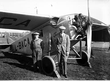 Junkers K 16 in Kraków, Poland 1928