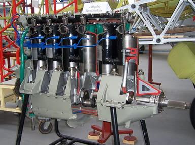 Junkers L5 Engine at Technikmuseum Hugo Junkers