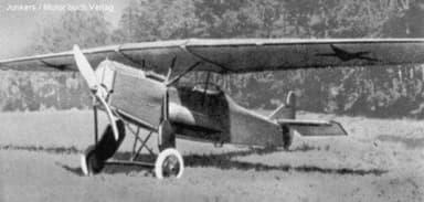 Junkers T.21 Reconnaissance Aircraft