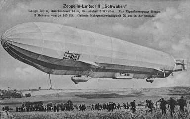 LZ10 Schwaben in 1912